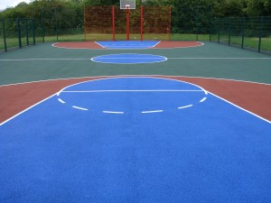Basketball Court Services and Installation