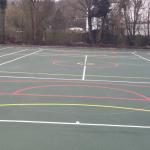 Multi Use Basketball Facility Installation