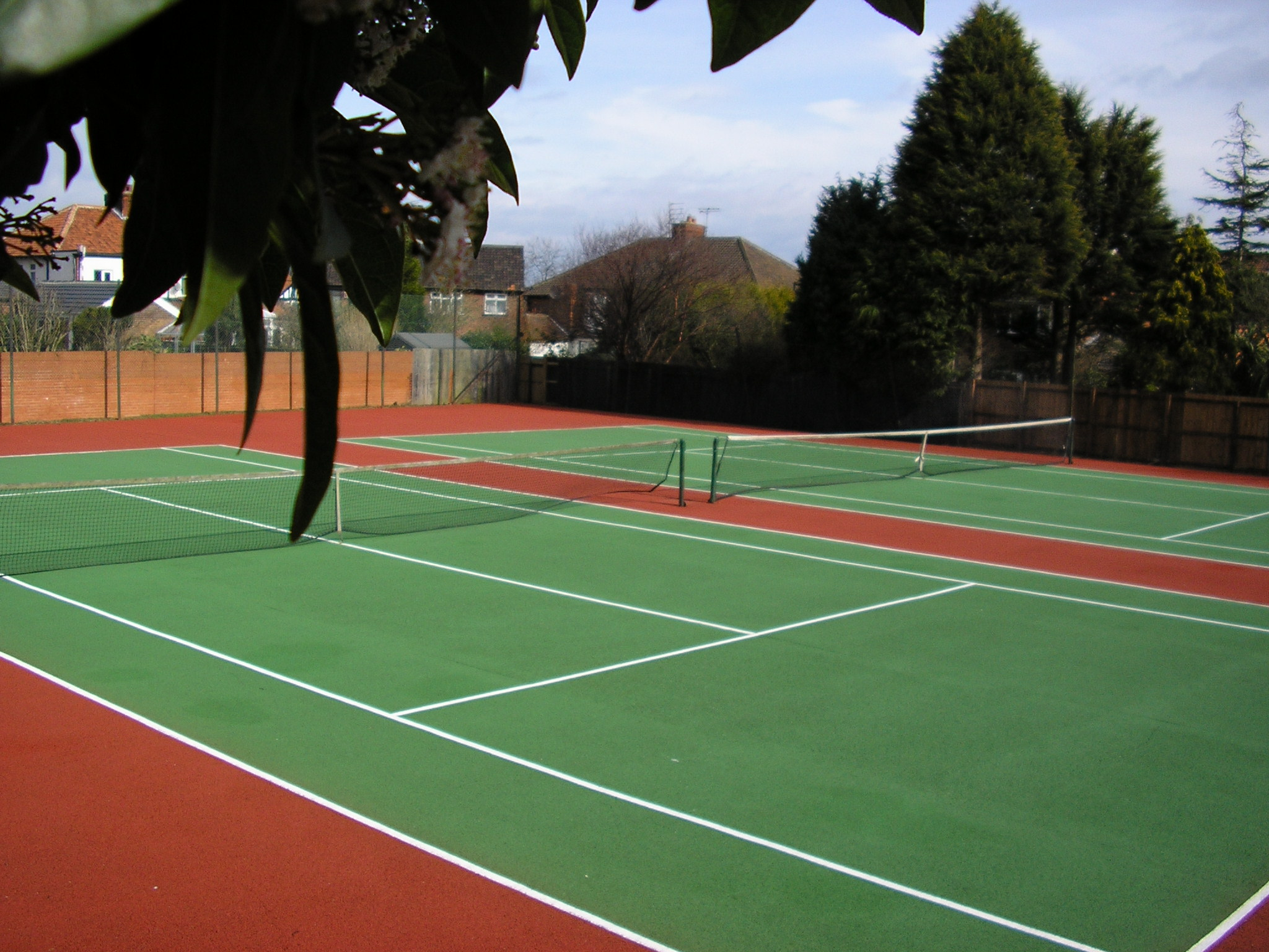 Tennis Court Surfacing Sports And Safety Surfaces