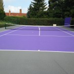 Coloured Tennis Court Flooring Specification