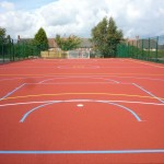 Polymeric Line Marking Court Coating