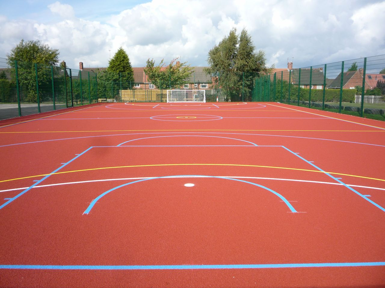 Basketball court line marking for Basketball court installation cost