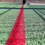 Polymeric Line Marking for Sports Courts