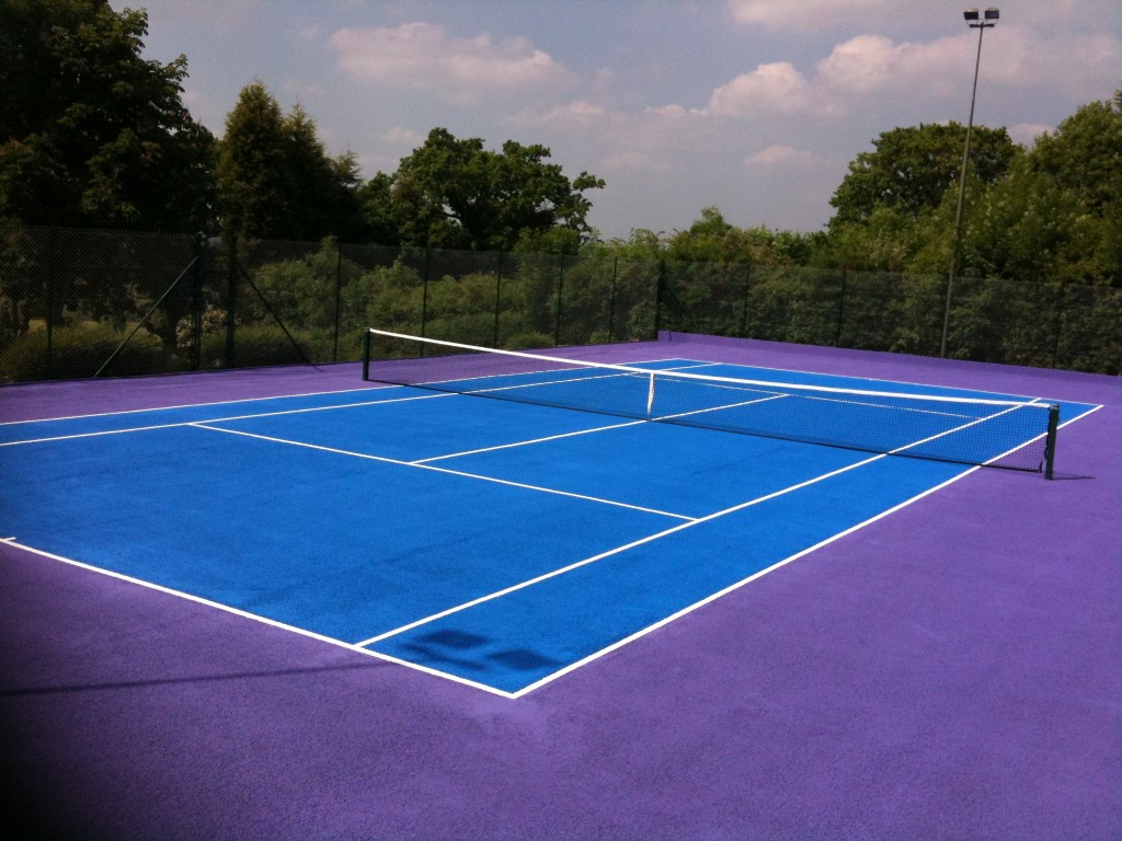 Coating Of Non Slip Acrylic Water Based Paint To Sports