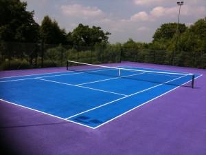 Tennis Court Surfacing in Macadam