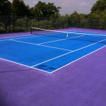 Tennis Court Colouring Applications