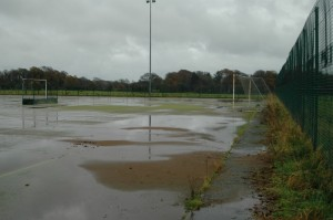 Waterlogged Hockey Pitch Surfacing Rejuvenation