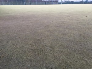 Sand Filled Sports Pitch Contamination