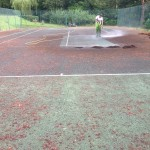 MUGA Court Cleaning Service Costs