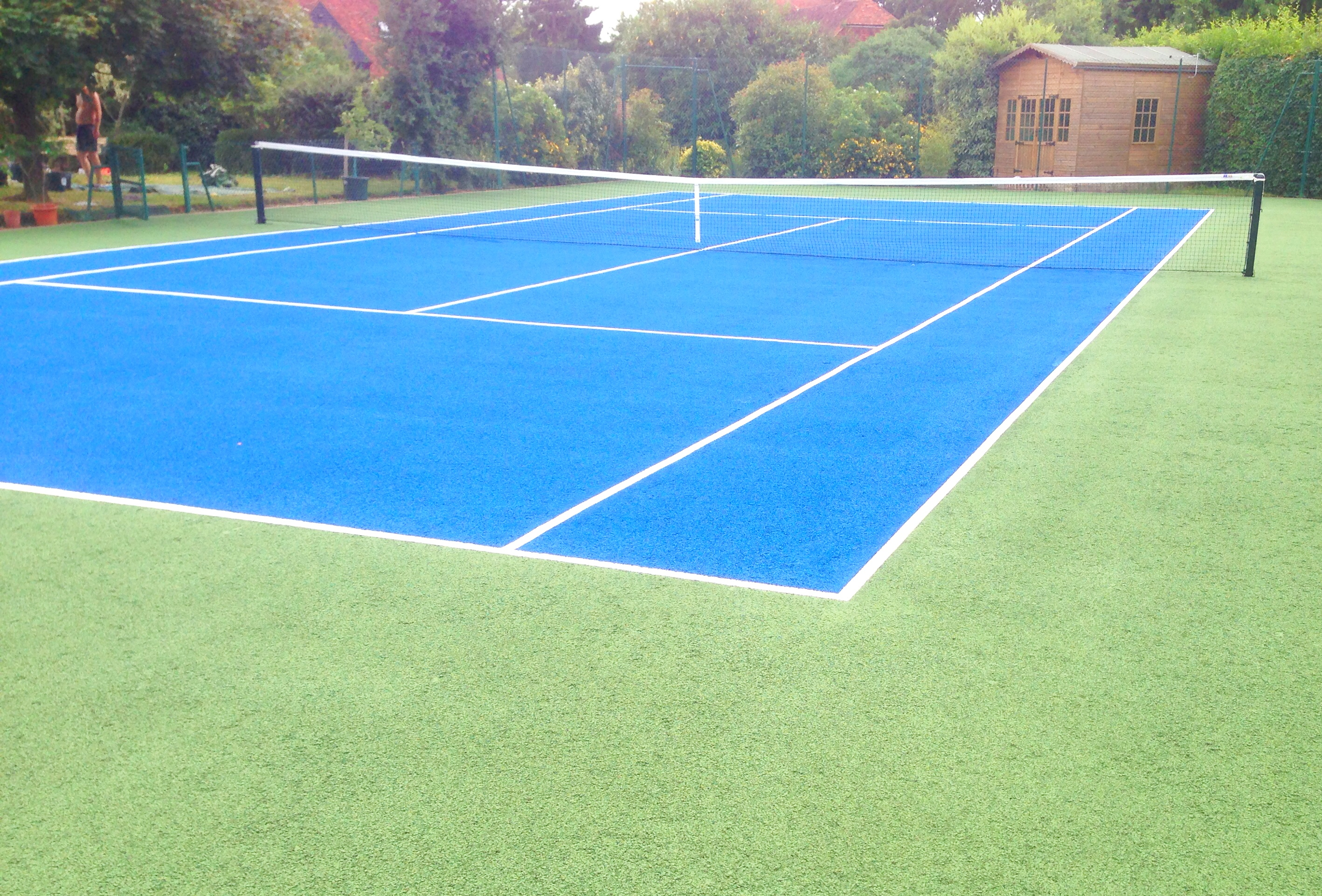 Maintaining Tennis Courts - Cleaning and Repainting ...