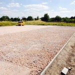 3G Pitch Stone Sub Base Construction