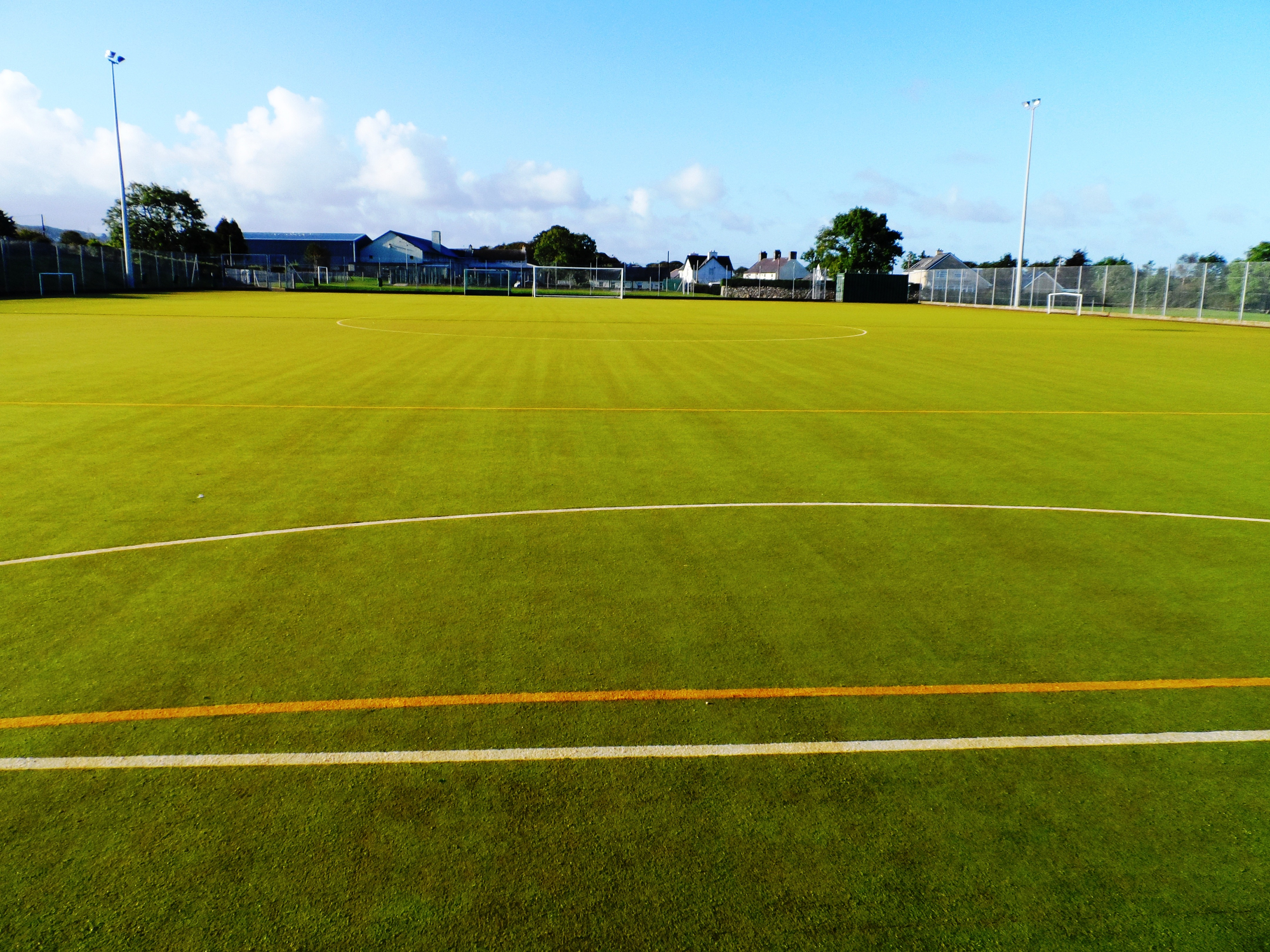 Building Synthetic Soccer Courts
