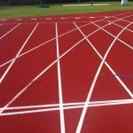 Running Track Line Markings Application