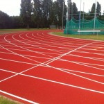 Rubber Sports Track Surfacing Contractors