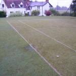 Dirty Tennis Court Maintenance