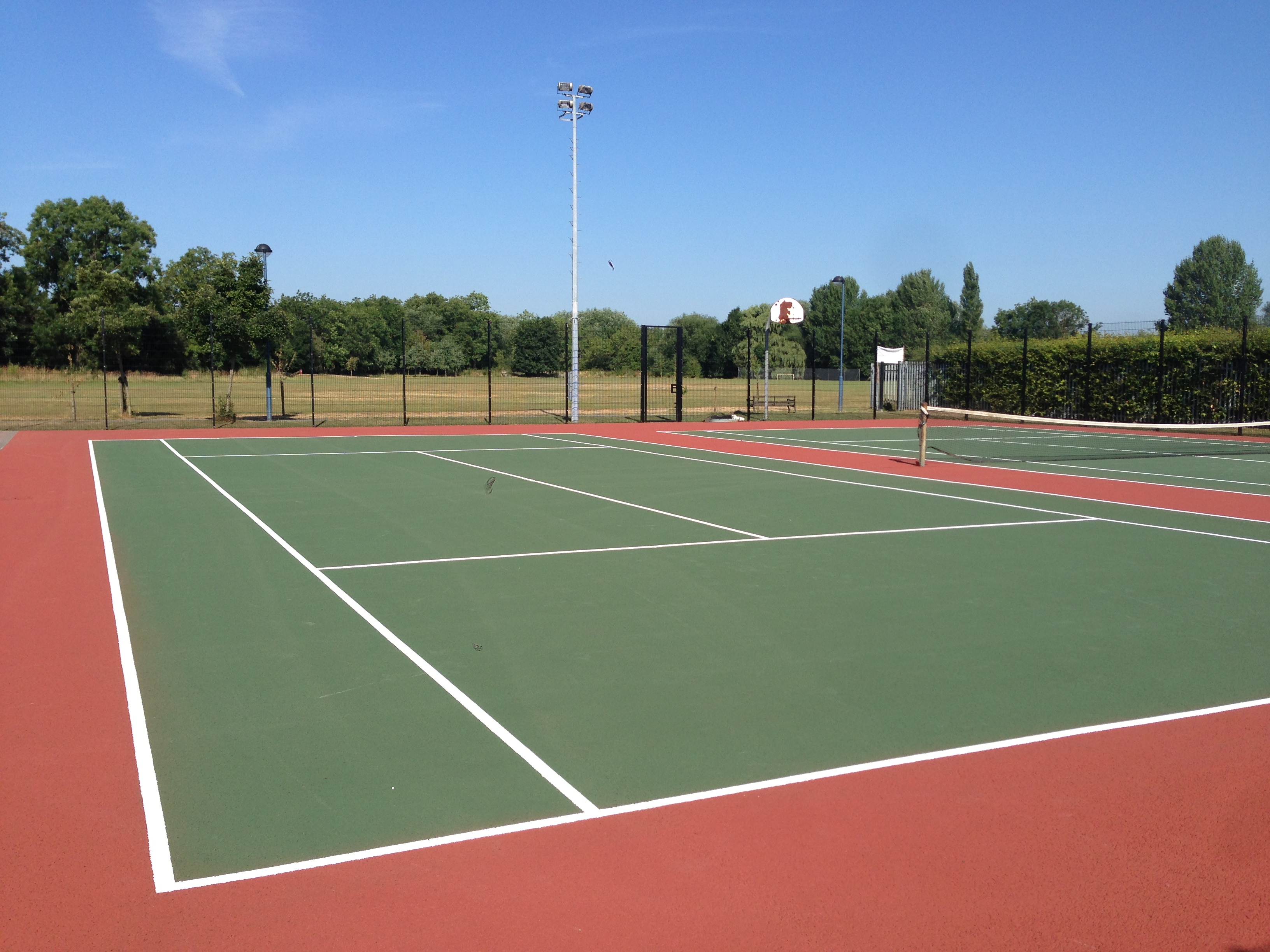 Tennis court line marking uk tennis courts sport lines for Sport court sizes