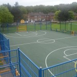 Multi Use Netball Court Surfacing