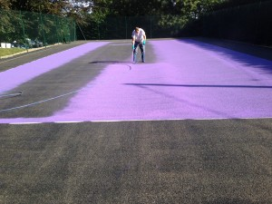 Macadam Services Paint Coatings