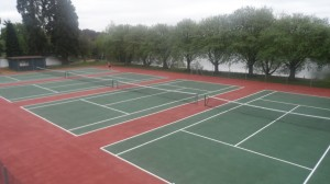 Macadam Sports Court Multi Line Markings
