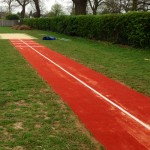Artificial Turf Long Jump Runway