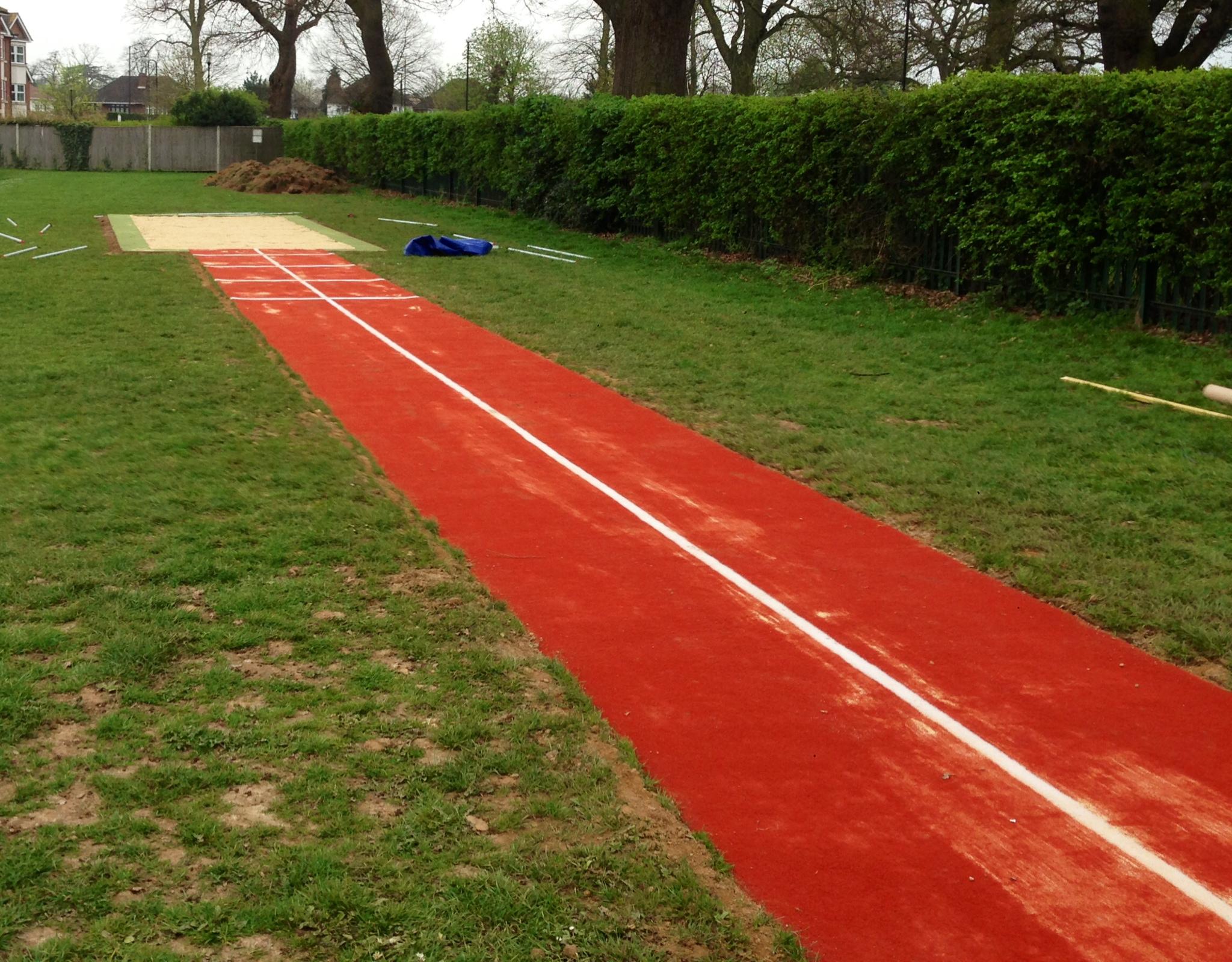long jump pit diagram