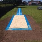 Navy Athletics Track