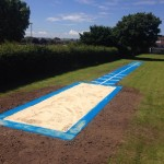 Synthetic Long Jump Runway