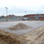 Tennis Court Construction Porous Stone