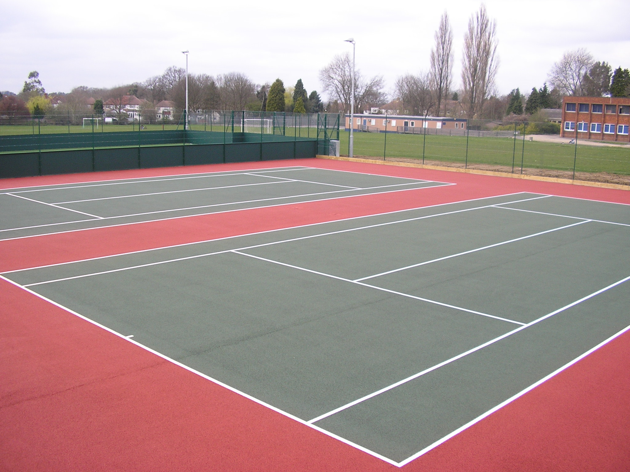 Macadam Sports Surfaces Tarmac Courts