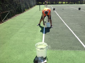 Tennis Line Marking Installation Specialists