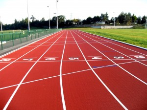 Polymeric Surfacing Athletics Tracks