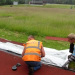 Athletics Track Cleaning Costs