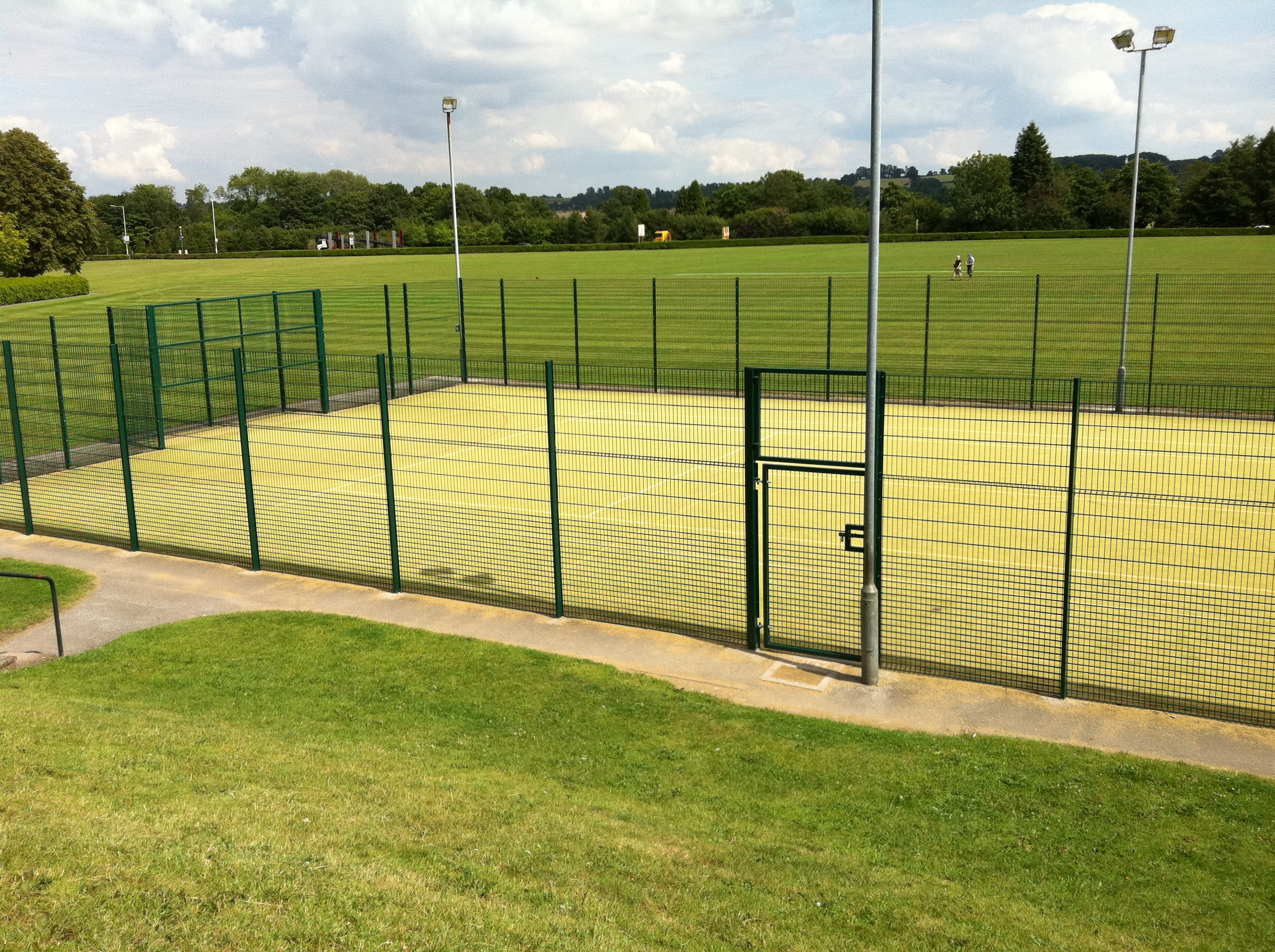 Hockey Pitch Fencing Hockey Surface Fences