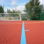 Polymeric Rubber Surfacing Installation