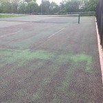 Tennis Court Renovation Painting Process