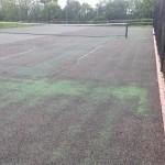 Tennis Court Renovation Painting Process
