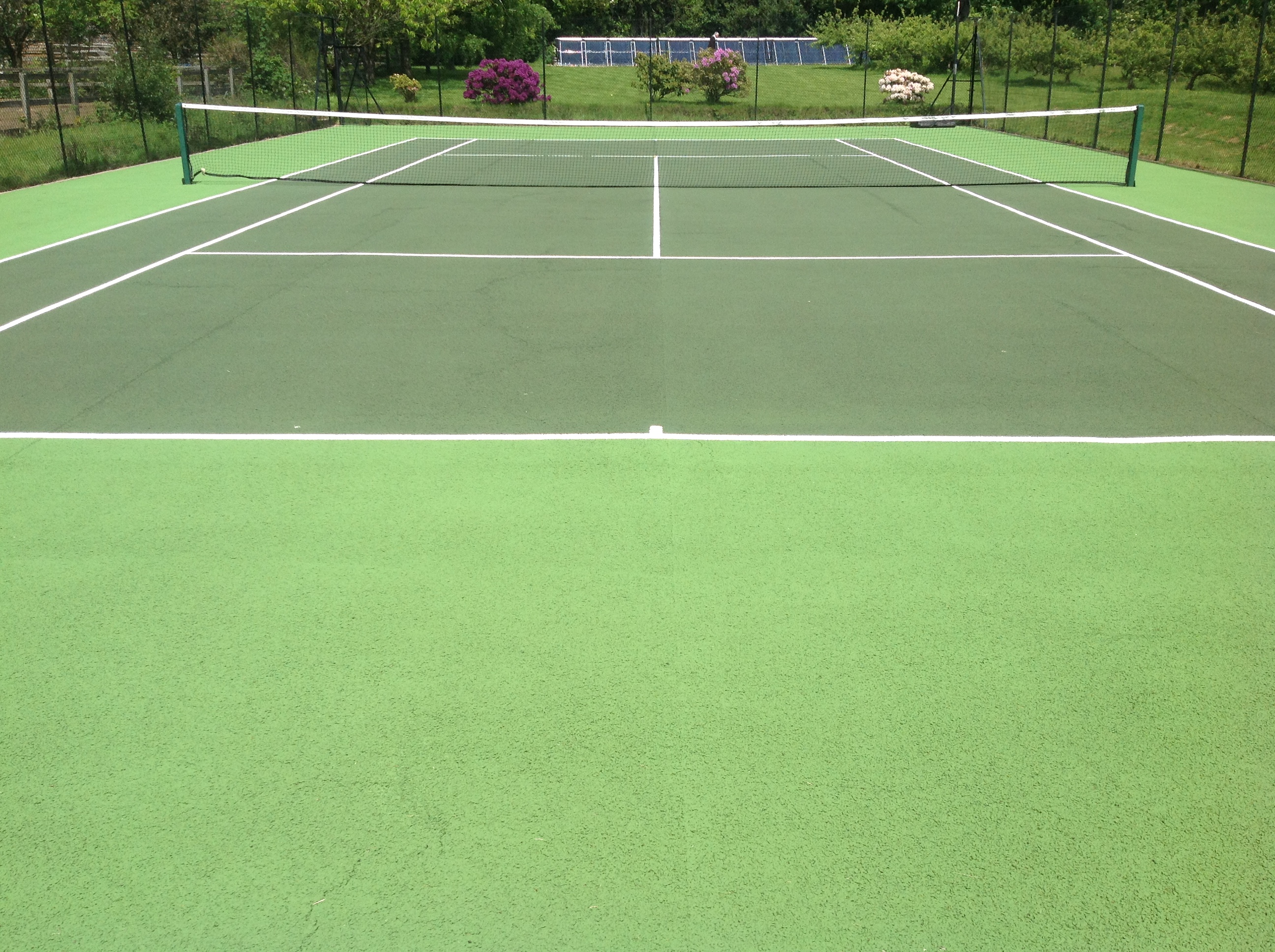 Tennis court renovation renovate existing tennis courts for Sport court paint