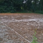Mossy Tennis Court Repairs