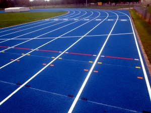 Polymeric Surfacing Athletics Track Construction