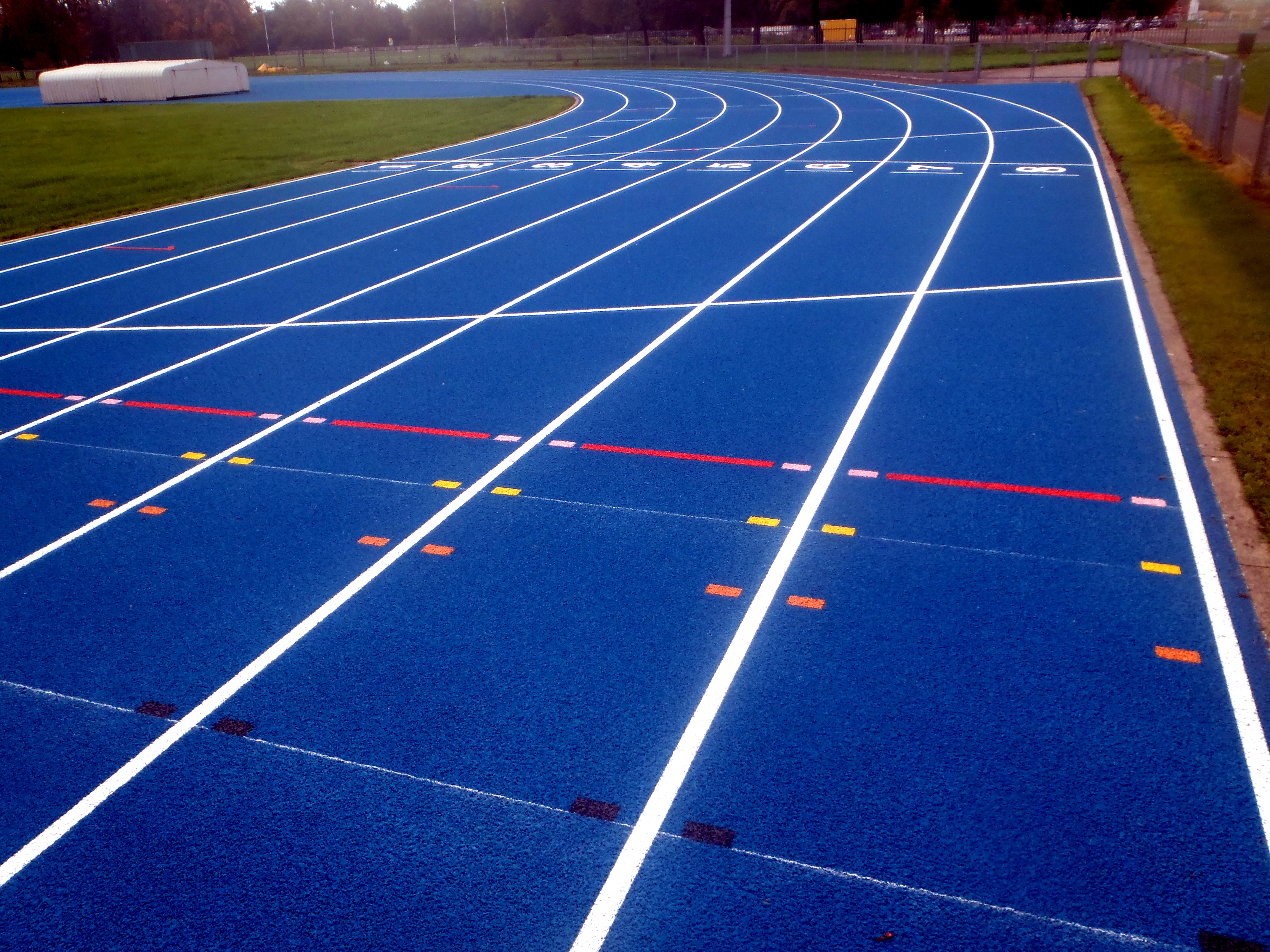 Football Stadium Floor Plan The Difference Between An Athletics Track And A Running