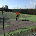 Sports Pitch Colour Spraying