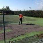 Sports Pitch Colour Spraying