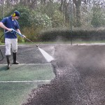 Specialist Clean and Paint Tennis Court Maintenance