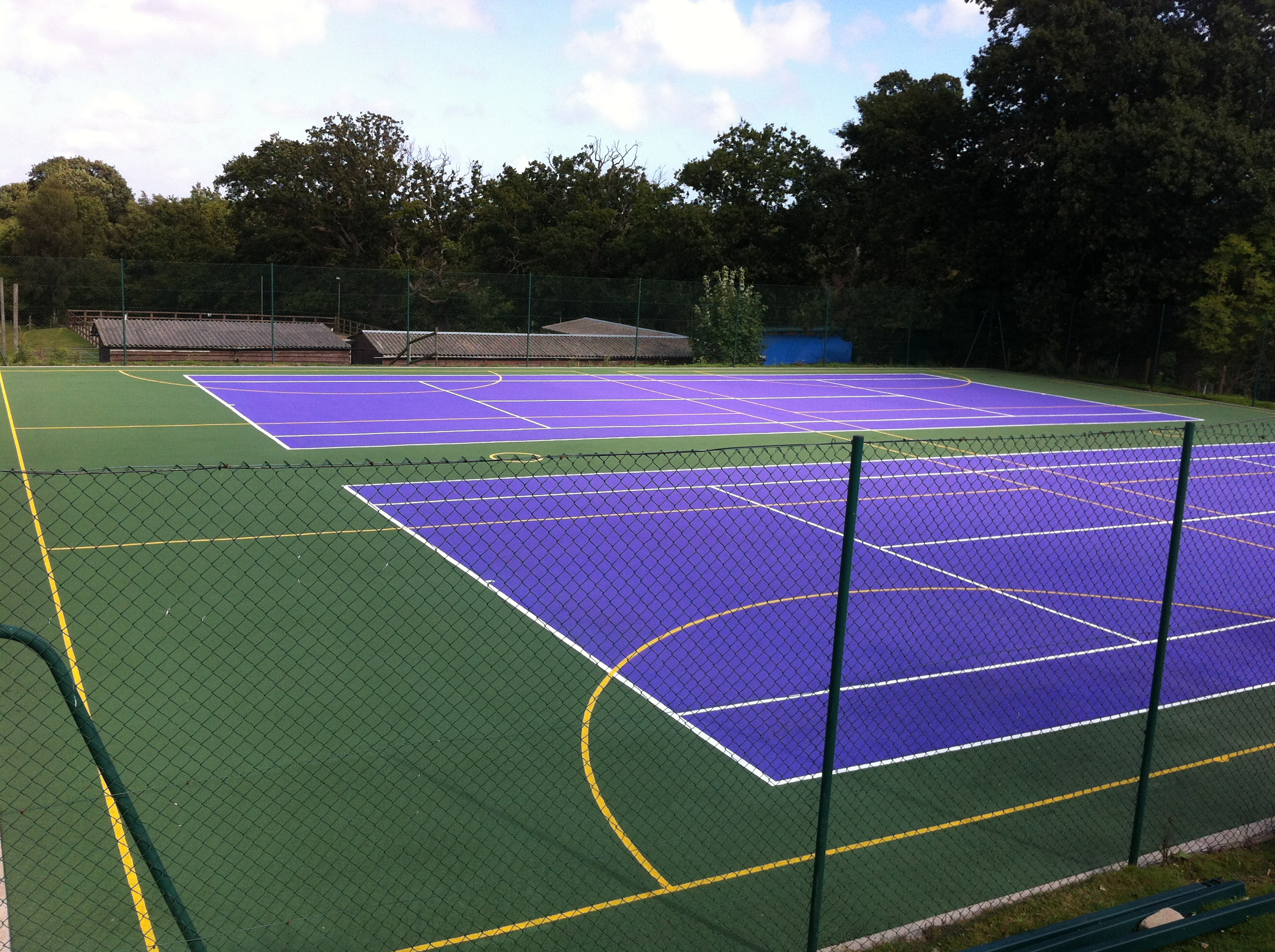 Muga services multi use games area for Sport court pricing