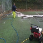 Tennis Court Cleaning Company