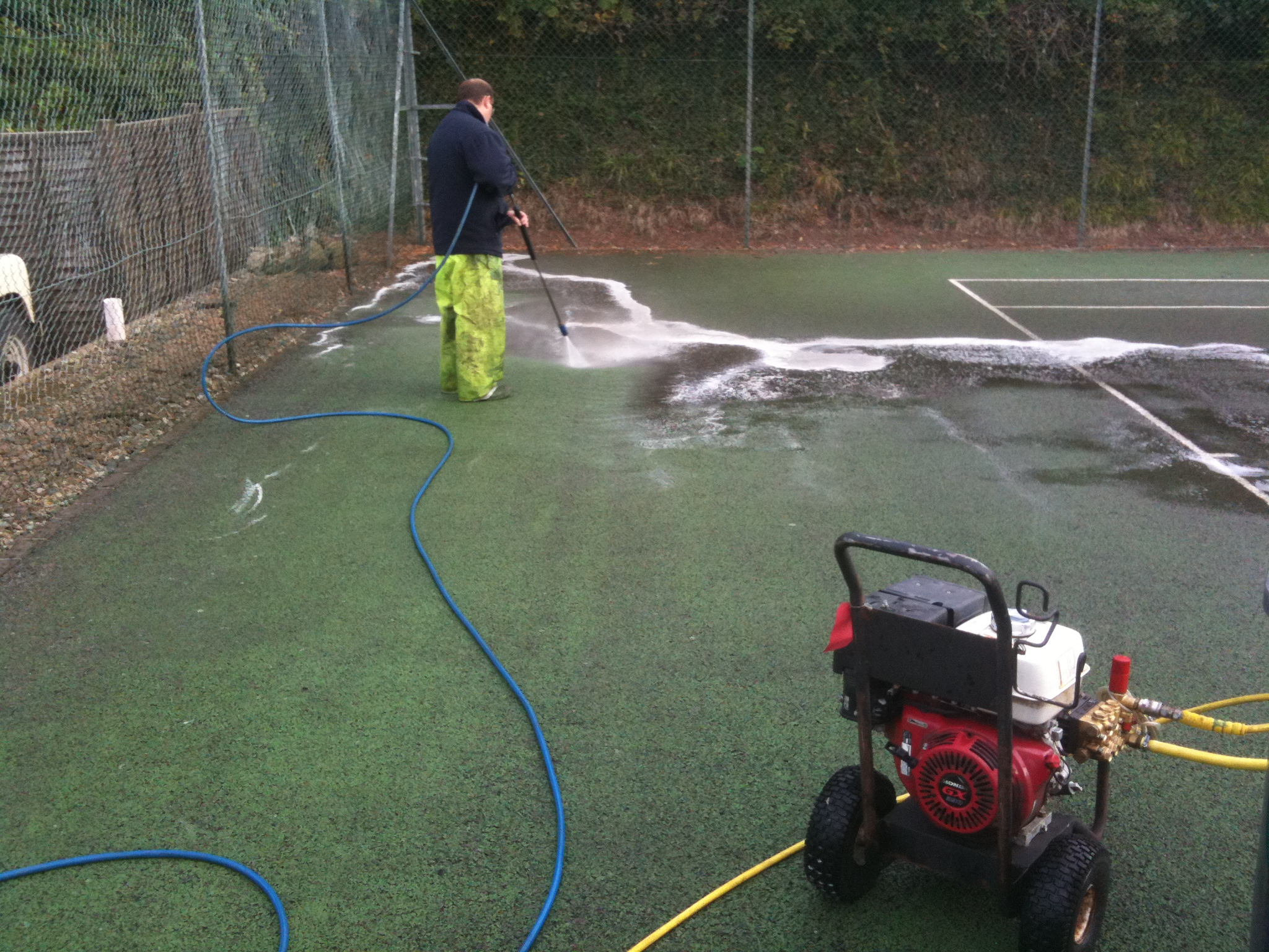 Tennis Court Cleaning Sports And Safety Surfaces