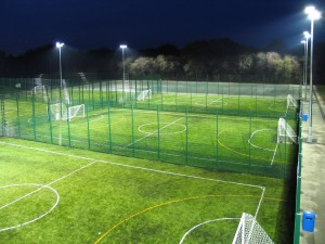 Synthetic Football Pitch Size and Dimensions UK