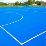 Macadam Netball Court Installers UK