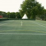 Netball Court Surfacing Construction