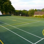 Netball Court Surfacing Construction Company